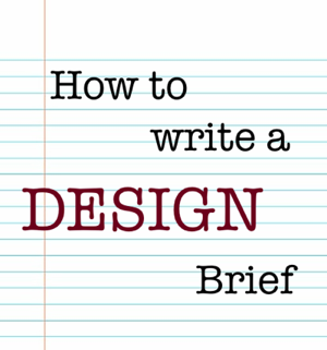 how to write a design brief for architecture